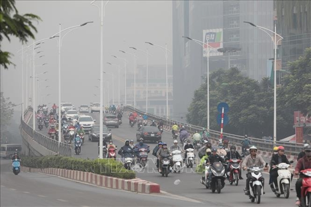 Air pollution engulfs Hà Nội