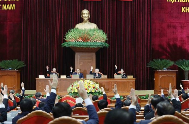 Party Central Committees 15th plenum convenes