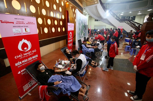 Red Sunday blood donation festival kicks off in Hà Nội