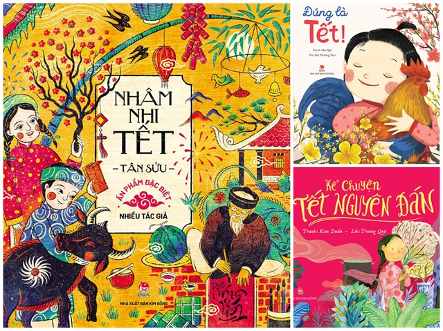 New childrens books about Tết released