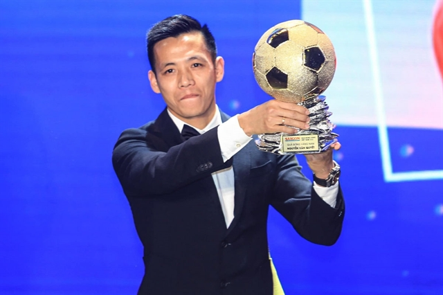 Golden Ball winner Quyết revels in success