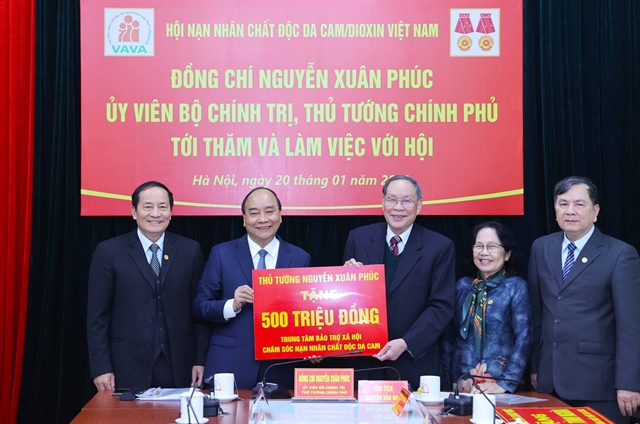 VAVA praised for efforts to care for AO victims