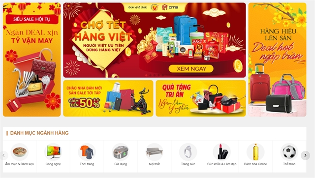 E-commerce platform for high-quality VN goods set up