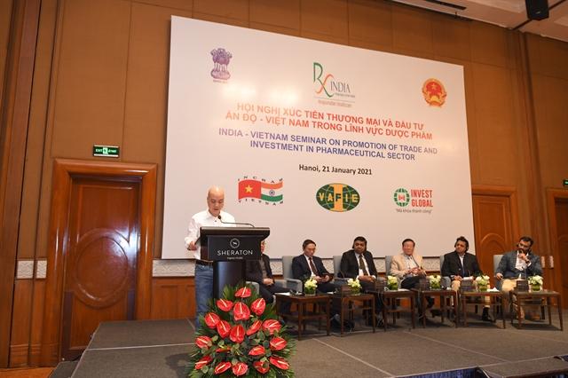 Vietnamese Indianpharmaceutical enterprises have great opportunities in Viet Nam