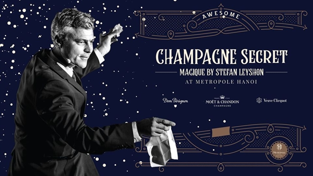 Metropole hotel to host magic show