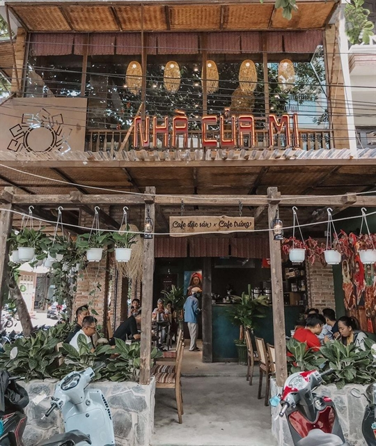 HCM City coffee house features ethnic decor