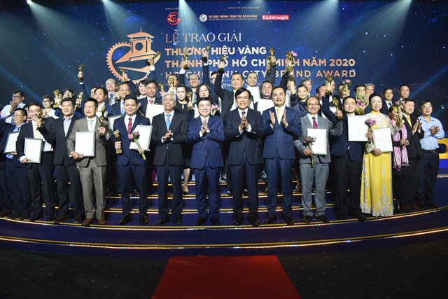 Thirty enterprises win HCM City Golden Brand Award
