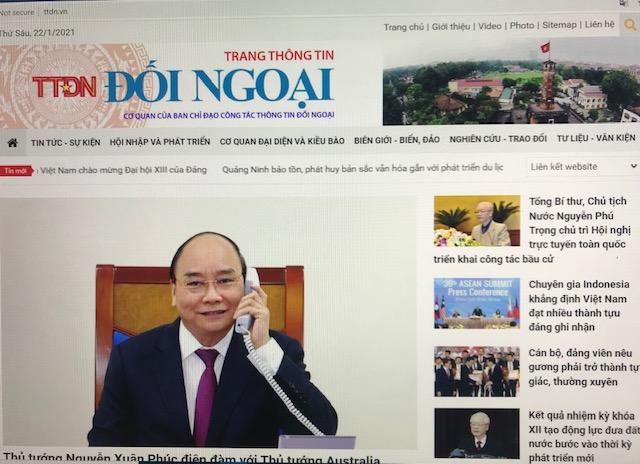 News website handbook on external relations launched
