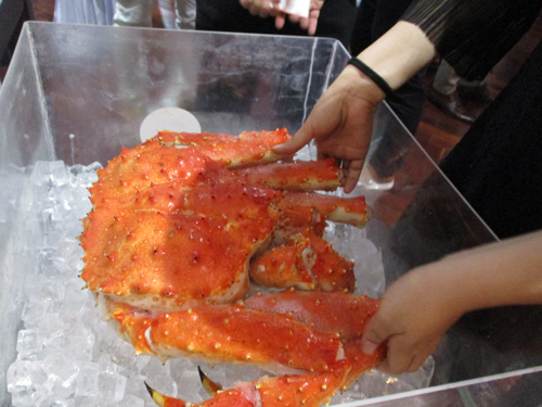 Demand for imported luxury seafood rises