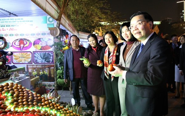 Hòa Bình culture on show in downtown HàNội