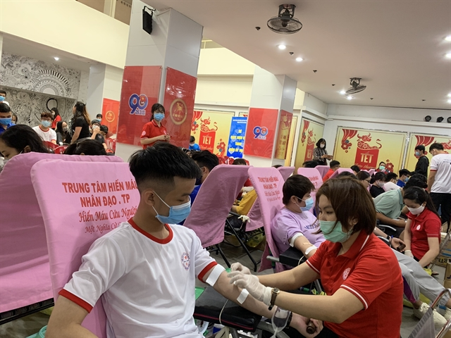HCM City Red Cross begins blood donation campaign