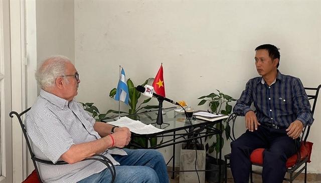 Argentinian party chief praises Vietnamese Communist Party's decisive role