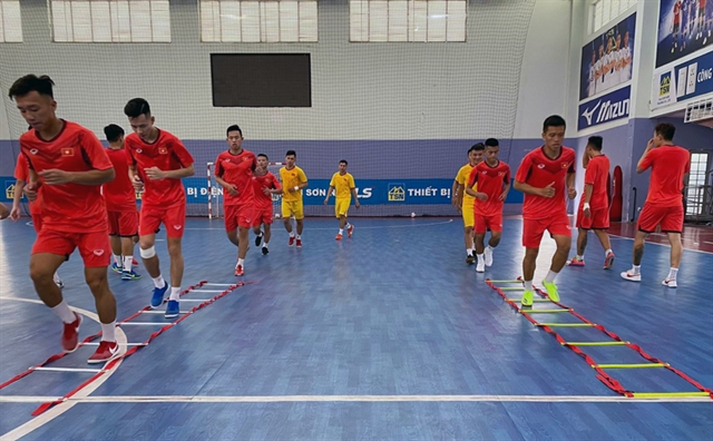 Futsal champs cancelled Việt Nam may have chance to qualify for 2021 World Cup