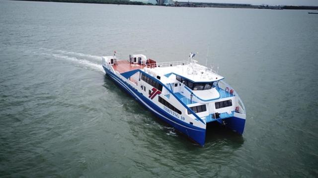 Ferry service between Cần Giờ and Vũng Tàu opens
