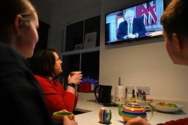 U.K. PM Boris Johnson announces nationwide lockdown