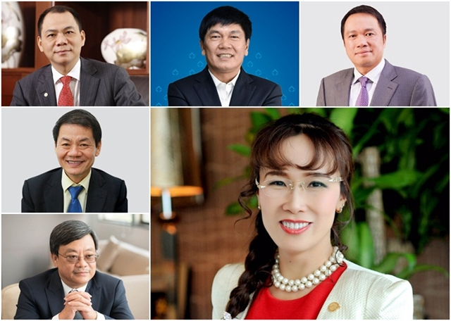 Vietnamese billionaires net worth increases after battling headwinds of 2020