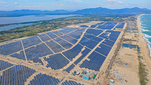 Phù Mỹ solar power plant goes on stream