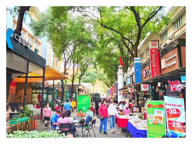 HCM Citys Book Street celebrates 5th birthday