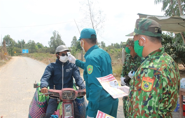 Việt Nams army make efforts in fight against COVID-19