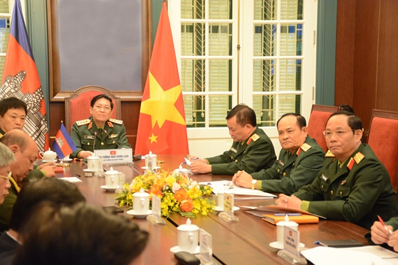 Việt Nam Cambodia beef up defence cooperation