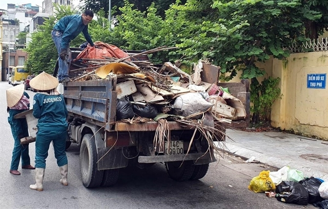 Việt Nam aims for safe treatment of 100 per cent solid waste in 2050