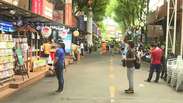 HCM City Book Street reopens after nearly four months