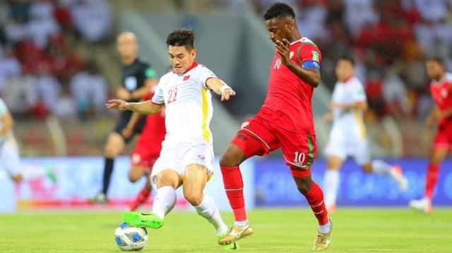 Oman condemn Việt Nam to fourth defeat in a row