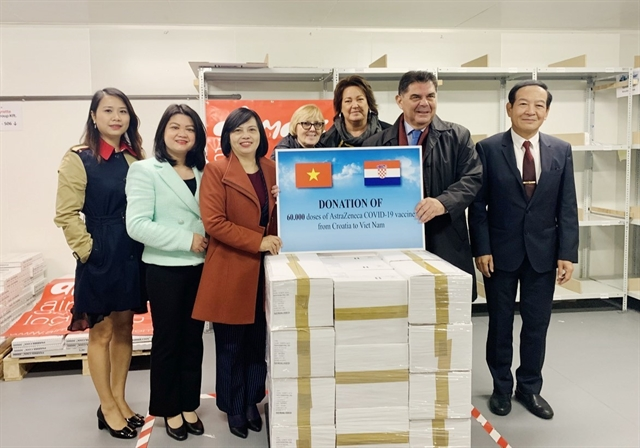 Croatia Hungary share COVID-19 vaccines with Việt Nam to aid pandemic response