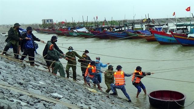 Typhoon Kompasu weakens warnings on torrential rain flash floods landslides remain in place