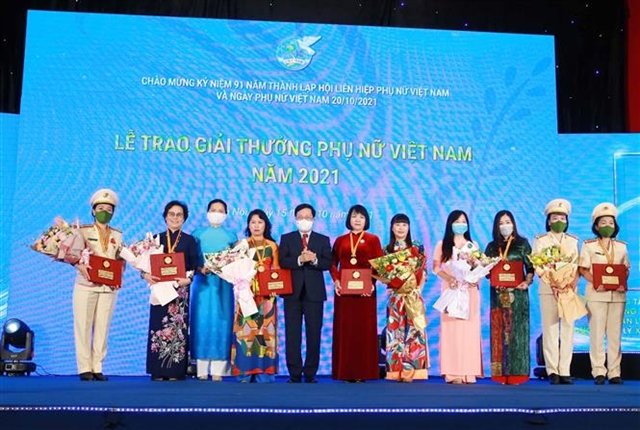 Success and entrepreneurship focus on 91st anniversary of Việt Nam Womens Union