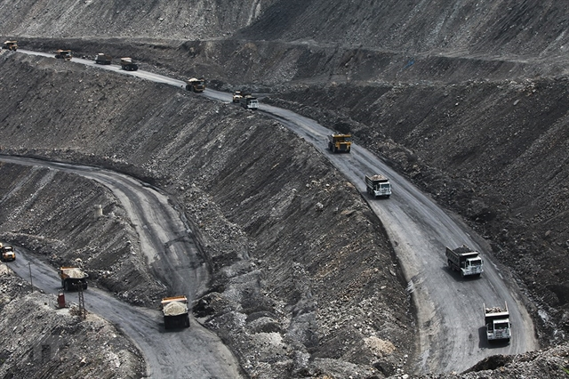 Vietnamese firms yet to benefit from world coal price fever