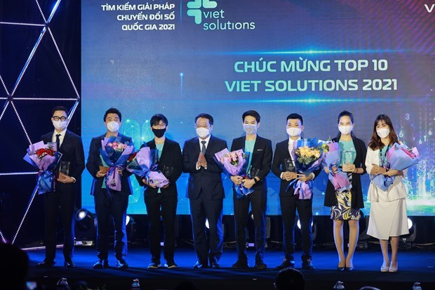 Winners of Viet Solutions 2021 announced