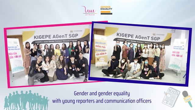 Nonprofit group offers course ingender equalityfor young journalistscommunications officers