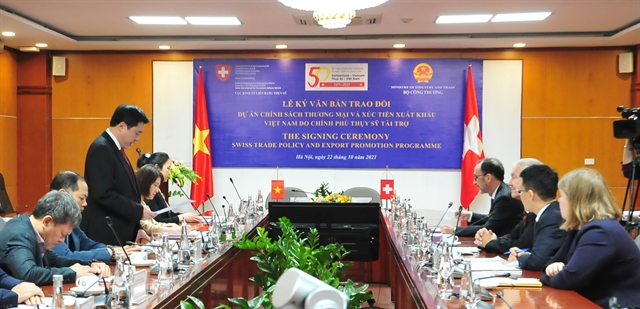 Swiss-Vietnamese deal enhances trade and cooperation between the two countries