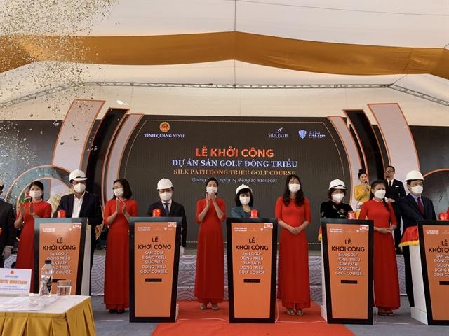 Work on a series of key projects worth over $12 billion startsin Quảng Ninh