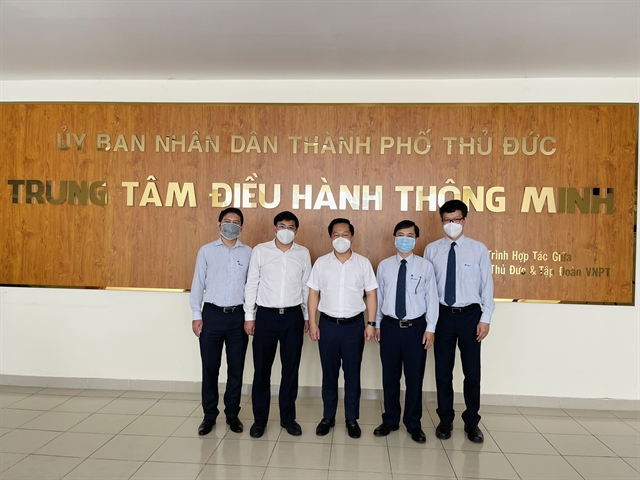 Thủ Đức citys intelligent operation centre goes official