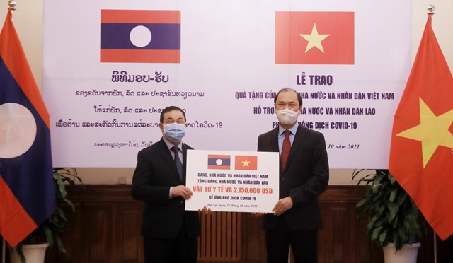 Việt Nam offers 2.5 million medical supplies to aid Laos pandemic fight