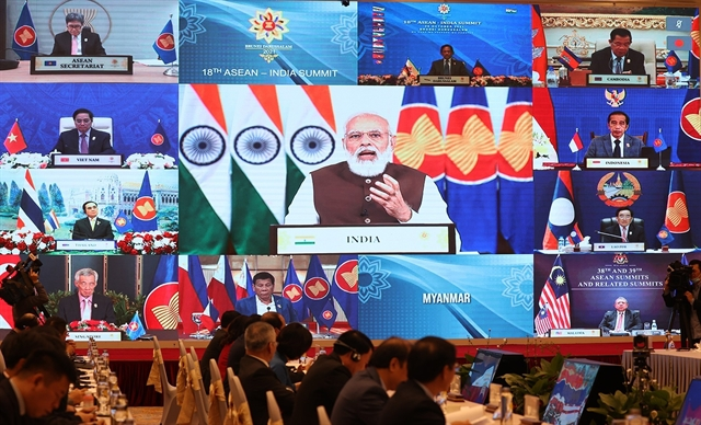 Vietnamese PM asks India to support contribute to ASEANs efforts in South China Sea