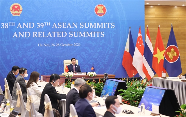 Cambodia becomes ASEAN Chair for 2022 as high-level summits end