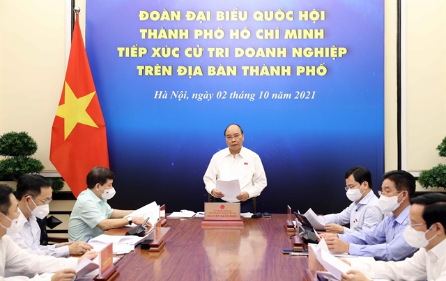 HCM City businesses propose support policies