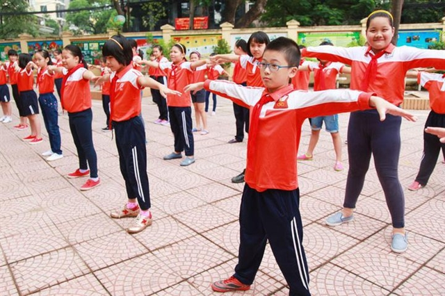 New school programme focuses on students health