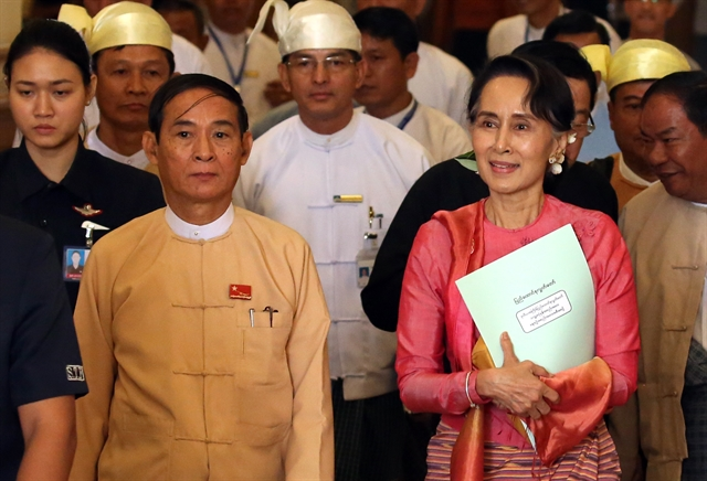 Myanmar leader Suu Kyi detained by military: ruling party