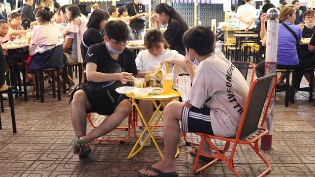 Kì Đài Quang Trung Street – a new hotspot for foodies