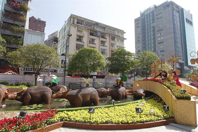 Nguyễn Huệ Flower Street uploaded online for 1st time
