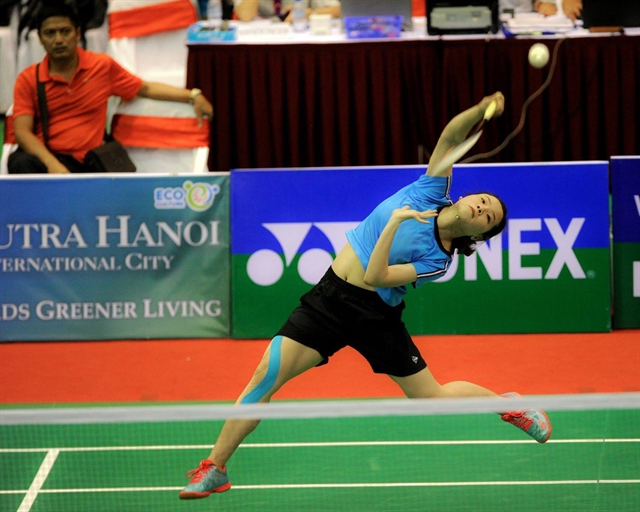 Linh sets sights on representing Việt Nam at Olympics