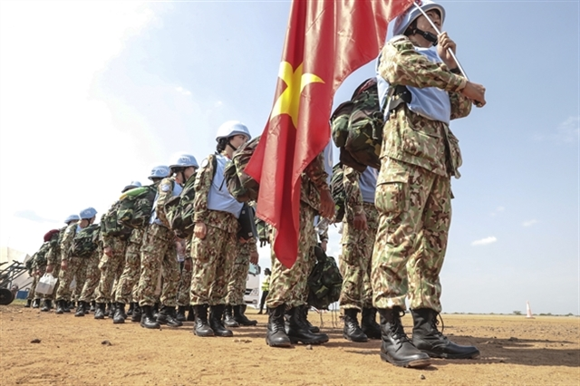 Plan issued to implement NA resolution on joining UN peacekeeping operations