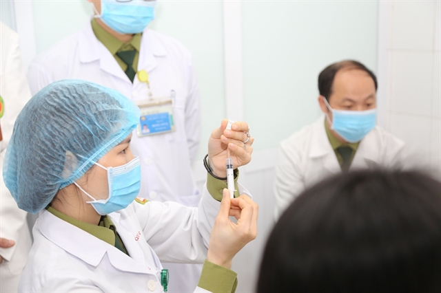 VN to give locally made COVID-19 vaccine to frontline workers in May: official