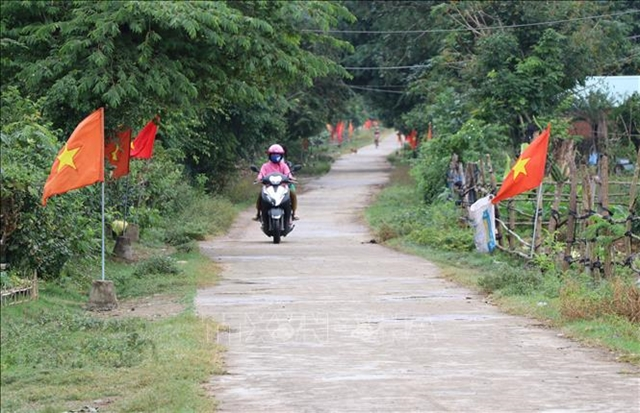 Rural roads improved in central province of Phú Yên