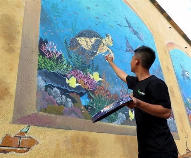 International street art event to be held in HCM City