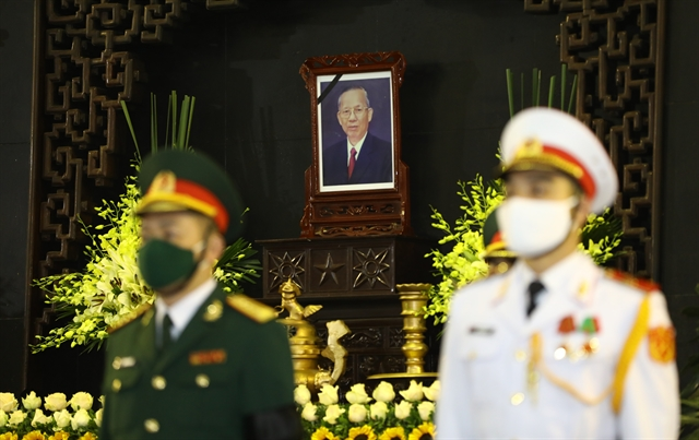 State funeral held to commemorate former Deputy PM